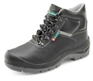 Click D/D Site Work Boot S3 CF11BL (Black) SIZE 7